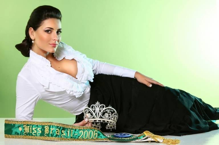 Imagens da Rafaela Zanella, Miss Brasil 2006