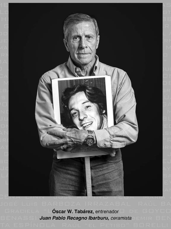 Projeto de fotos faz uruguaios abraçarem desaparecidos da ditadura