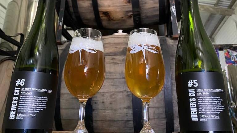 Dois lançamentos da série Brewer's Cut, da Cervejaria Dádiva