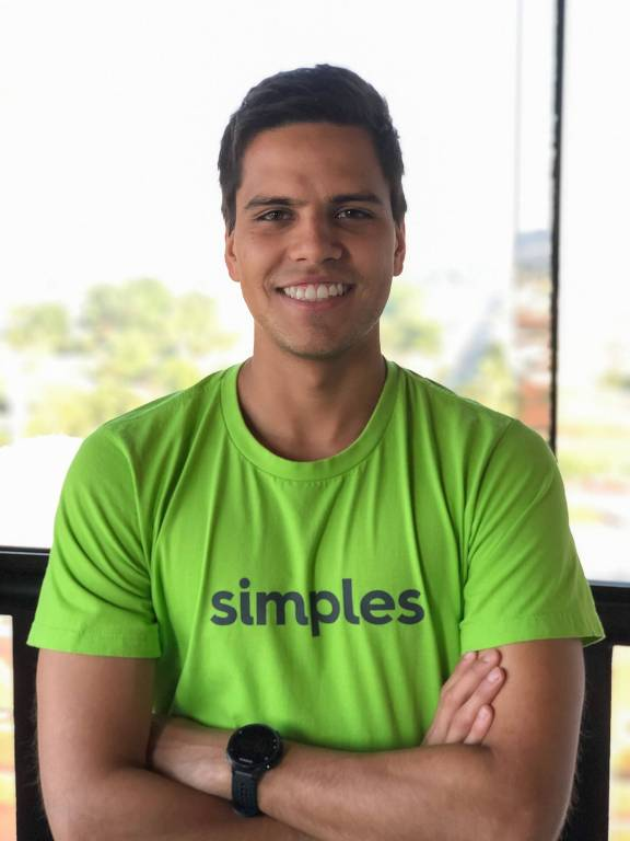 Rodrigo Tognini, 25. Ele é cofundador da Conta Simples