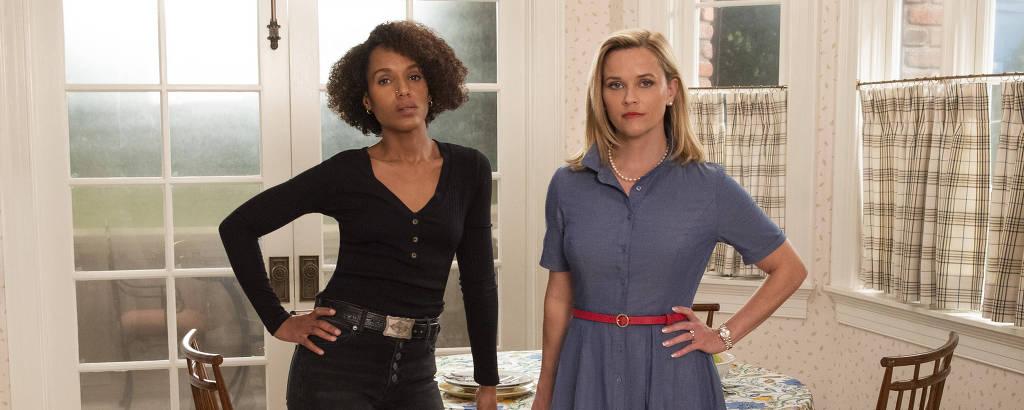 Mia Warren (Kerry Washington) e Elena Richardson (Reese Witherspoon) em 'Little Fires Everywhere'