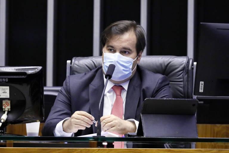 Presidente da Câmara dos Deputados, dep. Rodrigo Maia (DEM-RJ)