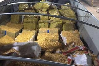 PF e PRF apreendem quase 30 toneladas de maconha em Tacuru/MS