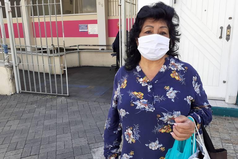 Moradora da Penha, zona leste, Maria das Graças Saraiva aprova ideia de hospital de campanha na região