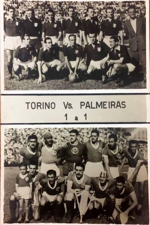 Palmeiras e Torino, que era base da seleção italiana e que ficou marcado pela tragédia aérea em 1949, ficou no empate por 1 a 1 (gols de Lula e Gabetto), no amistoso de 1948, em São Paulo
