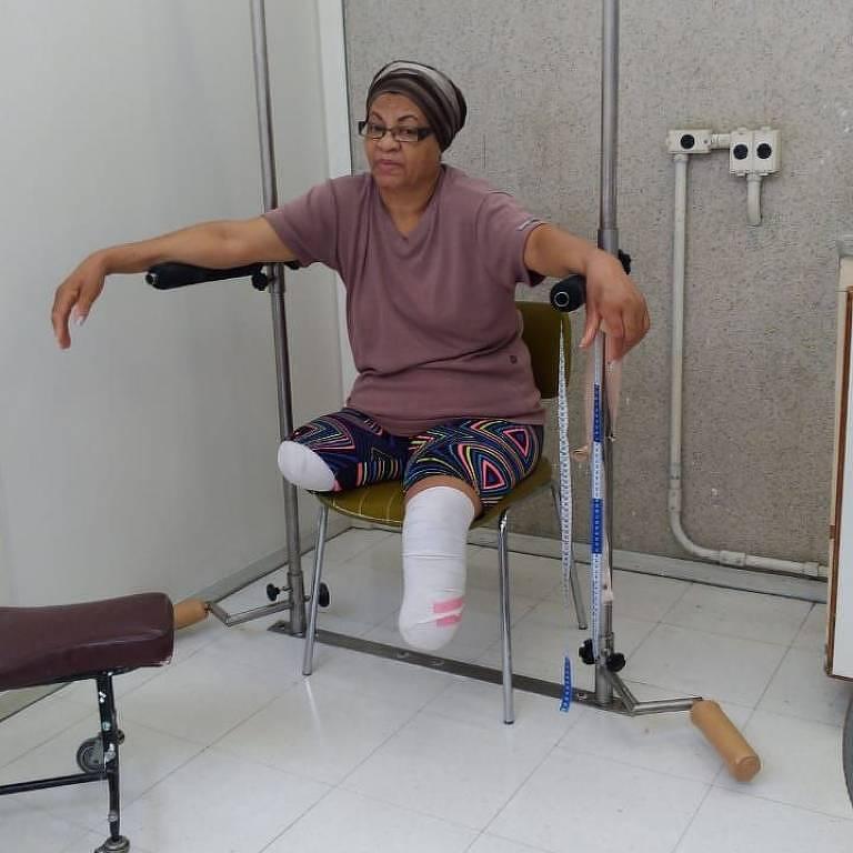 Mesmo hipertensa e diabética, a aposentada Maria Suely Ramos de Jesus se recuperou após contrair a Covid-19