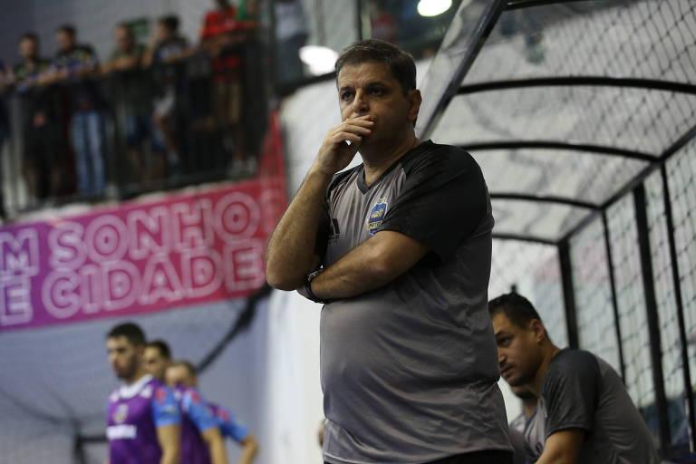 Sergio Lacerda foi bicampeão da Liga Nacional com o Pato Futsal, do Paraná, em 2018 e 2019
