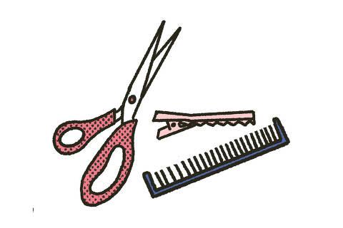 Corte para cabelos cacheados e crespos