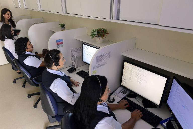 Atendimento do HCor que monitora pacientes que tiveram Covid-19, ou suspeita, mas não foram internados