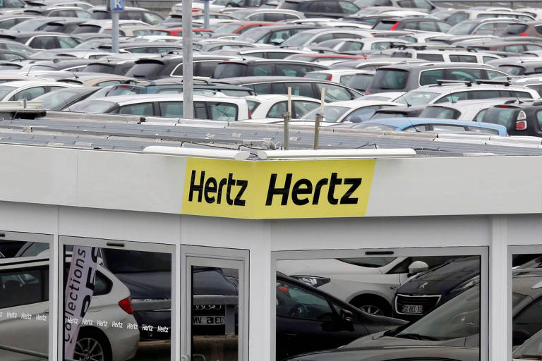 Pandemia leva Hertz a pedir proteção contra falência nos EUA