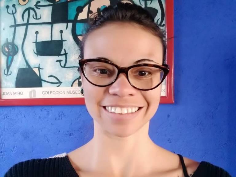 A psicóloga Vanessa Marinho Pereira, 31, que não consegue voltar do México