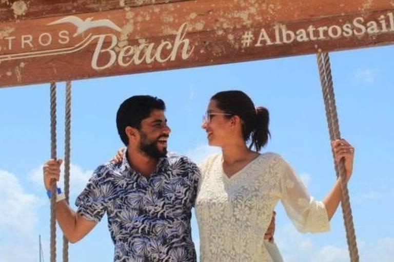Khaled e Peri começaram a lua de mel no México no início de março