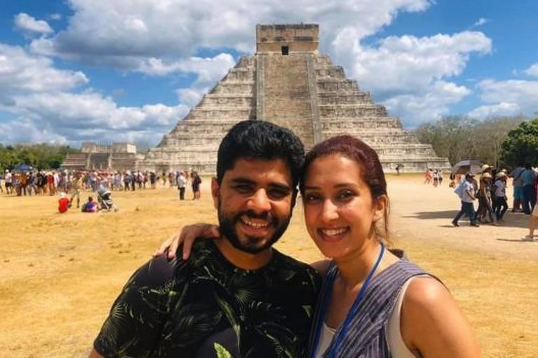 Quando estava no México, o casal achava que as restrições de viagem durante a pandemia não os afetaria