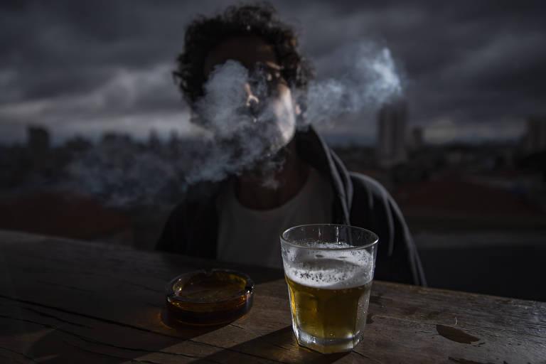 Aumento de consumo de álcool e drogas durante a quarentena