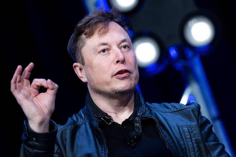 Elon Musk na Satellite 2020 em Washington