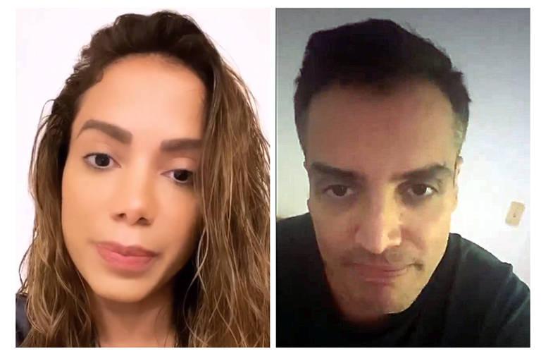 Acusações entre Léo Dias e Anitta são assunto do dia entre celebridades