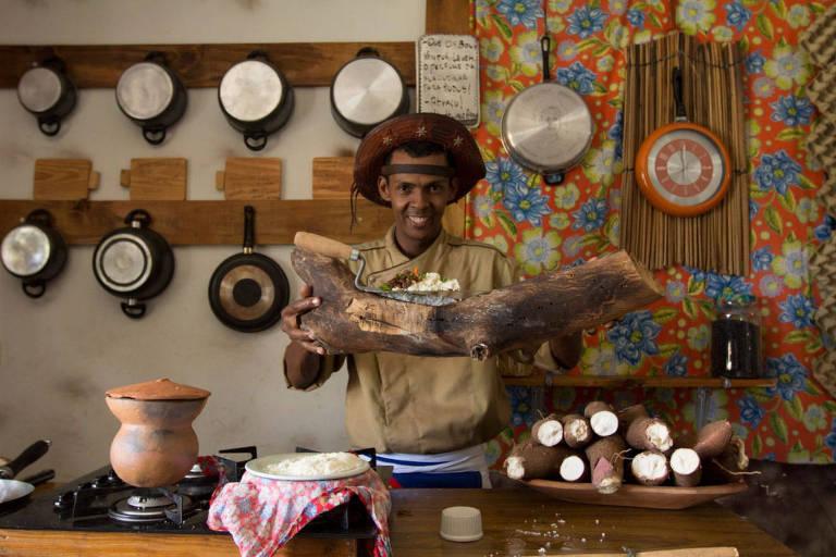 Cena da série 'História da Alimentação no Brasil'