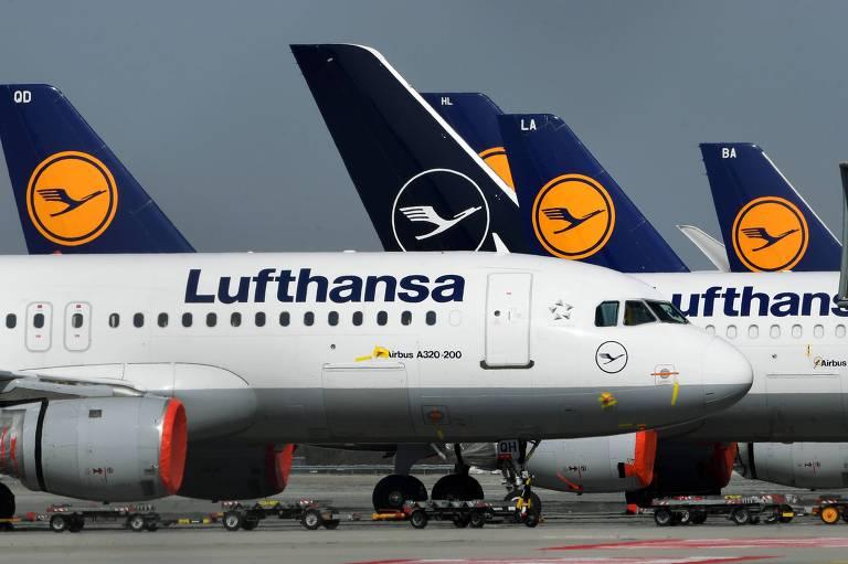 Governo alemão aceita acordo de ajuda de 9 bi de euros para Lufthansa