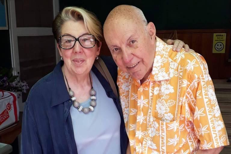 José Luiz Magalhães Vieira (1932-2020) com a esposa Vera Vieira
