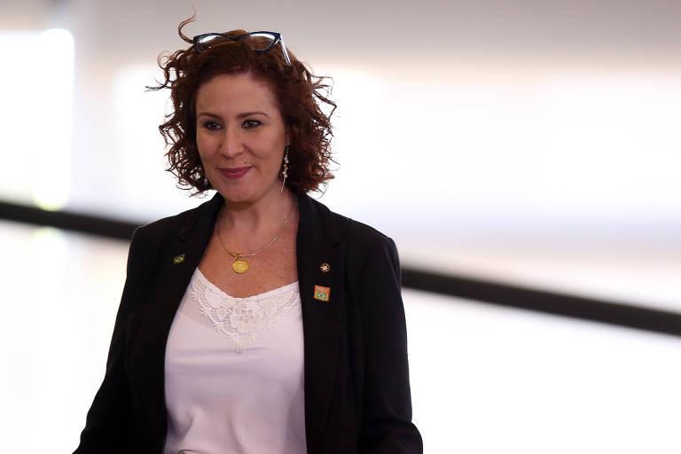 A deputada Carla Zambelli (PSl-SP)