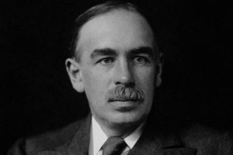 John Maynard Keynes foi um importante economista britânico Foto: © National Portrait Gallery, London
