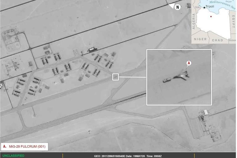 EUA acusam Rússia de enviar caças para apoiar líder rebelde na Líbia