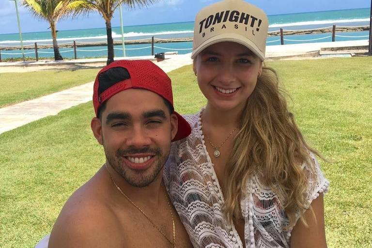Gabriel Diniz com a namorada, Karoline Calheiros