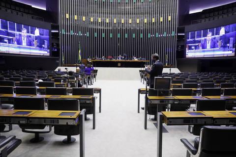 BRASILIA, DF, 26-05-2020  -  Ordem do dia para votação de propostas. Presidente da Câmara dos Deputados, dep. Rodrigo Maia (DEM-RJ). Credito: Maryanna Oliveira/Câmara dos Deputados
