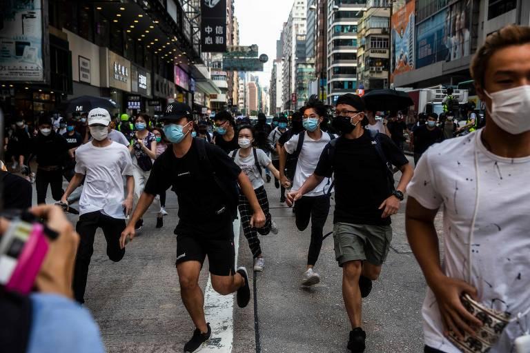 Novos protestos em Hong Kong contra a lei de segurança proposta pela China