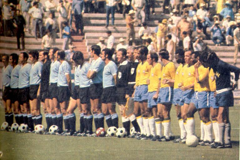 Passes que dei contra o Uruguai foram meus grandes momentos na Copa de 1970