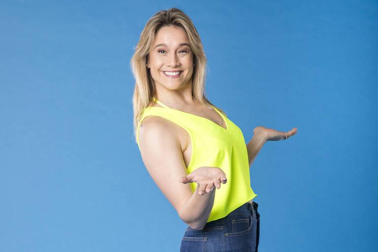Fernanda Gentil, uma das apresentadoras do Se Joga (Globo)