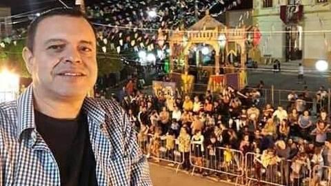 O religioso católico Mário Lúcio da Rocha Andrade, 55, morreu vítima da covid-19 em São José do Rio Preto (SP). (Foto: Arquivo Pessoal) ORG XMIT: nGE6y9AAe8SVCstldI4k