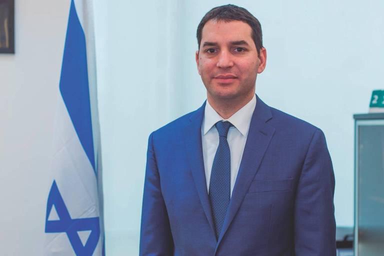 O cônsul-geral de Israel em São Paulo, Alon Lavi