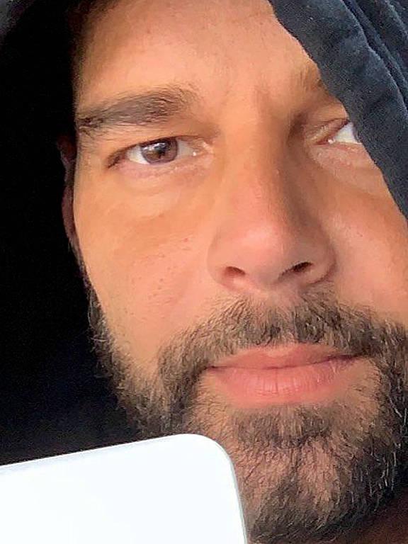 Imagens do cantor Ricky Martin