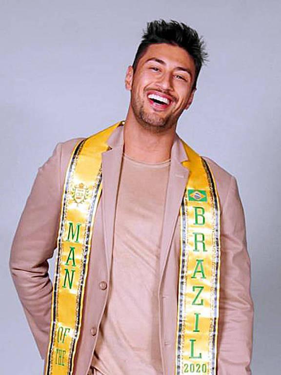Renato Souza Jr. vai representar o Brasil no concurso Man Of The World