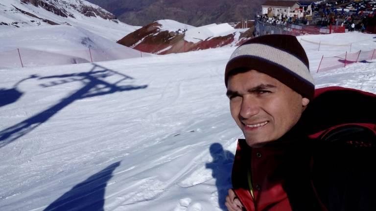Adriano Ferreira começou sua jornada por Argentina e Chile