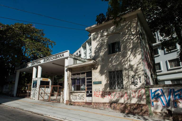 O antigo Hospital Sorocabana, no bairro da Lapa, está sendo preparado para oferecer 60 leitos de enfermaria para serem usados no tratamento de pacientes contaminados com o novo coronavírus