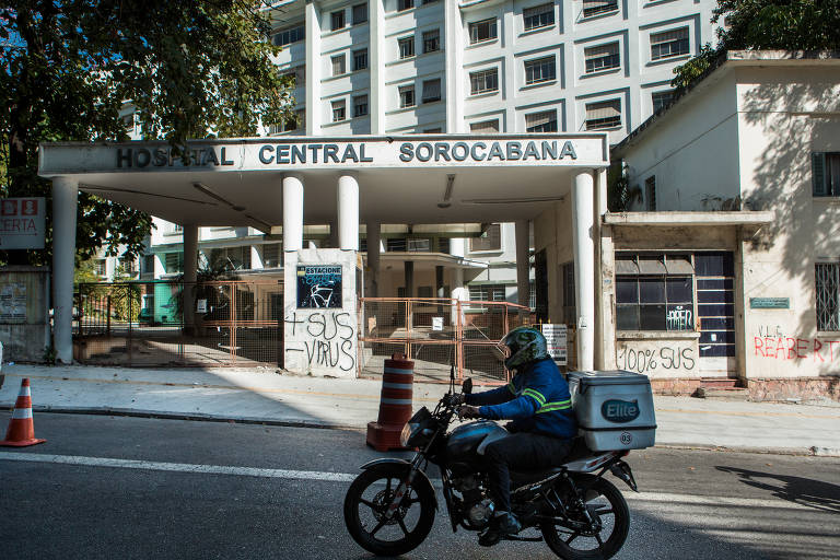 A prefeitura de São Paulo vai reabrir um andar do antigo Hospital Sorocabana, no bairro da Lapa, para abrigar 60 leitos de enfermaria para tratamento de pacientes contaminados com o novo coronavírus