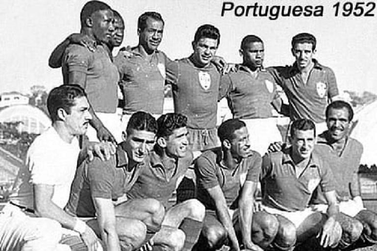 Esquadrão da Associação Portuguesa de Desportos que fez sucesso na década de 1950