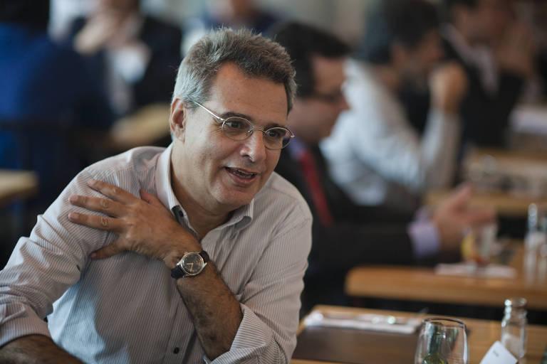 O jornalista Gilberto Dimenstein, em 2012