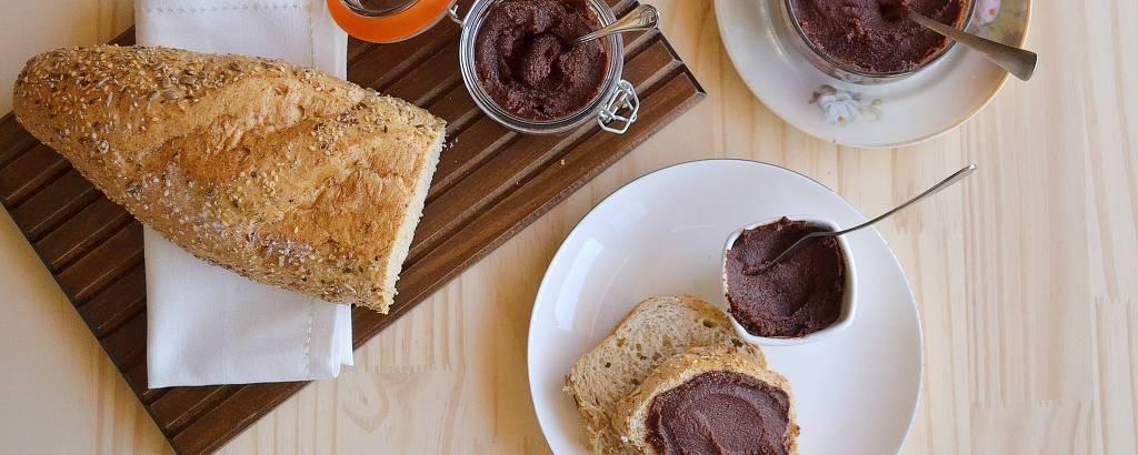 Nutella - creme de chocolate com avelã em casa