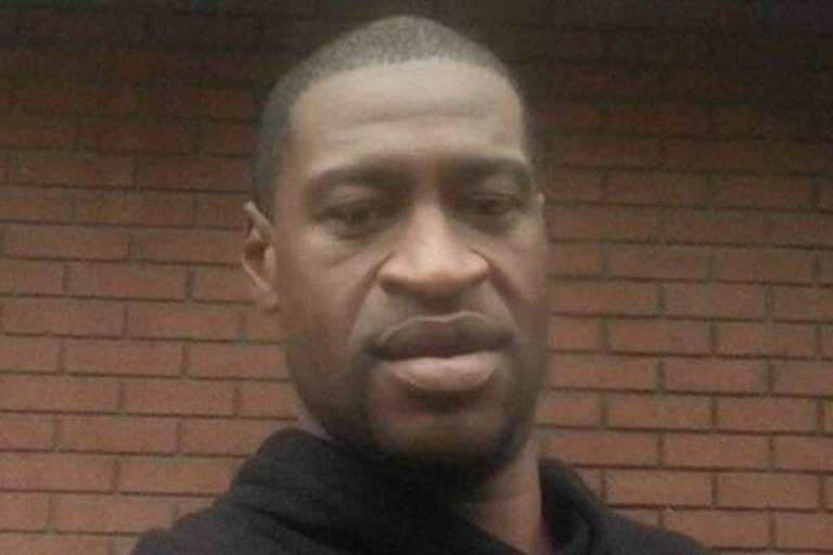 George Floyd, 46, foi asfixiado e morto por um policial em Minneapolis, nos EUA