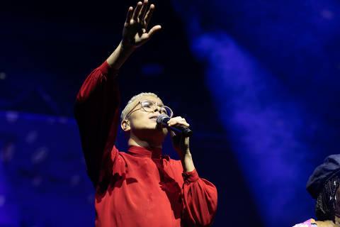 Maria Gadú na turnê Clube da Esquina (Milton Nascimento), em show em 15/12/2019