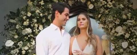 Gustavo Theodoro se casou com Barbara Evans