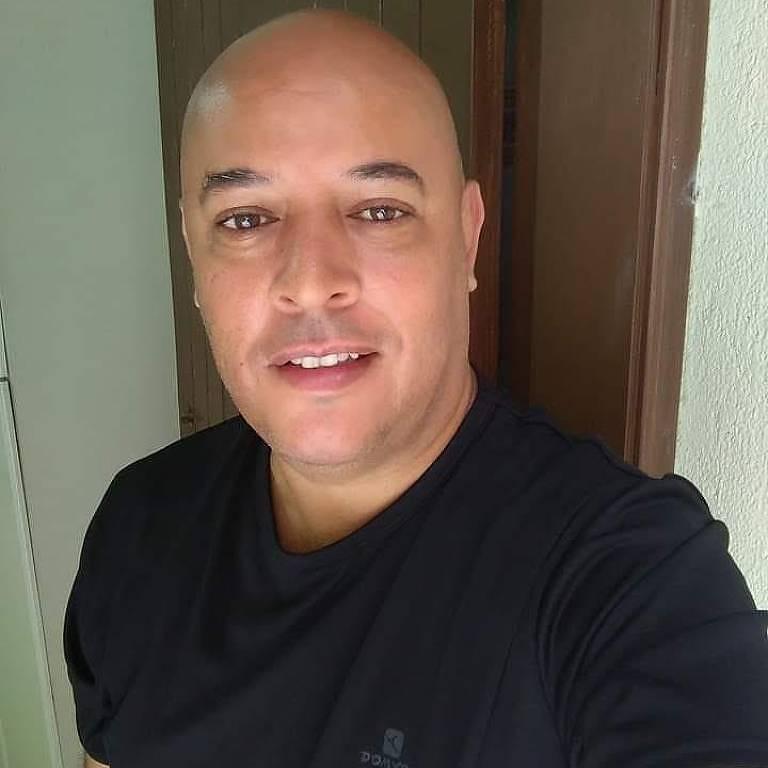 O porteiro Paulo Cesar de Abreu pegou o novo coronavírus e conseguiu se recuperar da doença