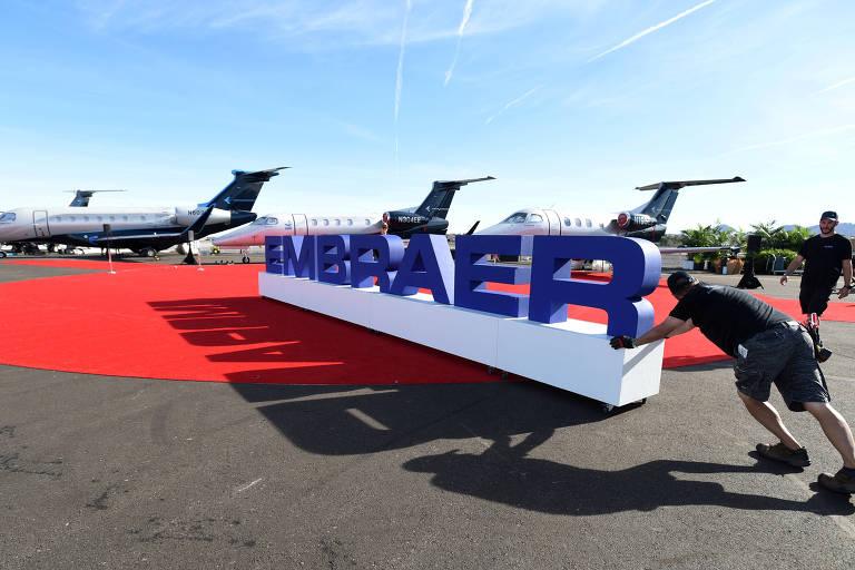 Este é o terceiro PDV da Embraer desde julho