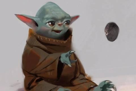 Esboço do Baby Yoda