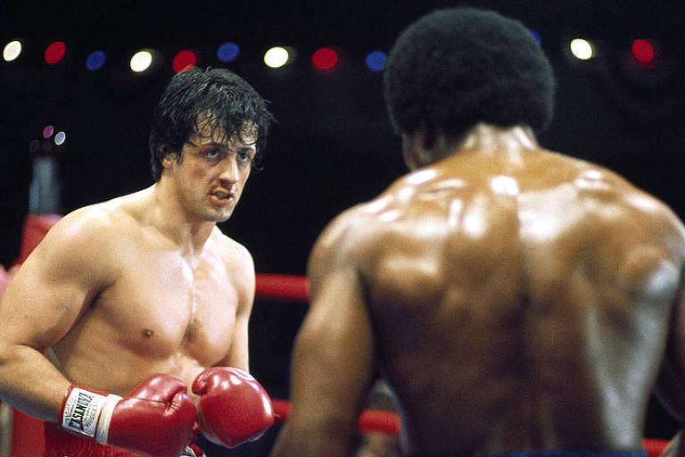 """Cena do filme """"Rocky: Um Lutador"""""""