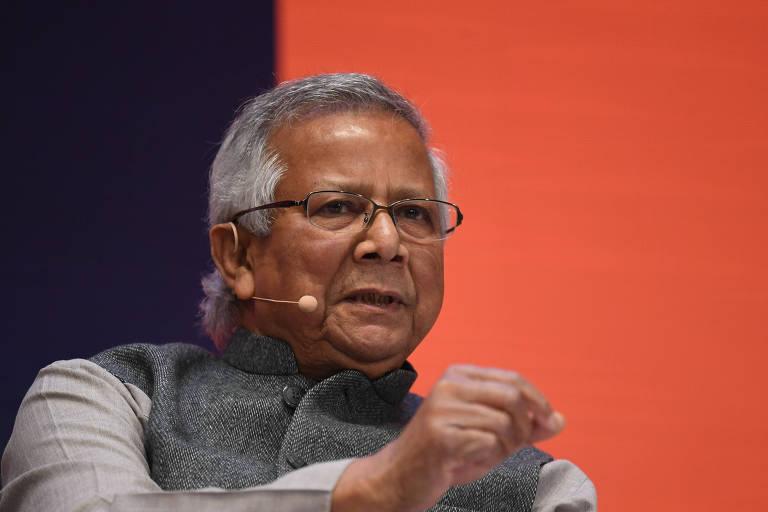 Muhammad Yunus, vencedor do Prêmio Nobel da Paz de 2006