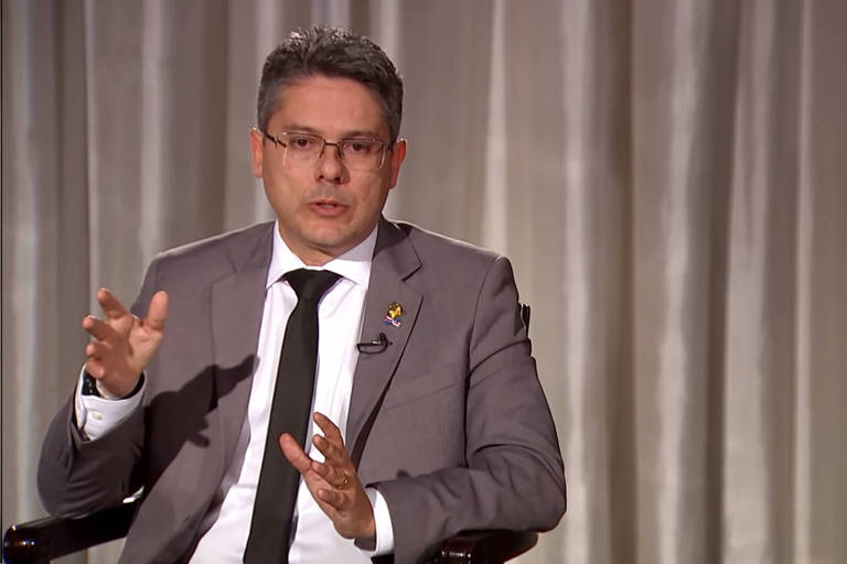 O senador Alessandro Vieira (Cidadania-SE)